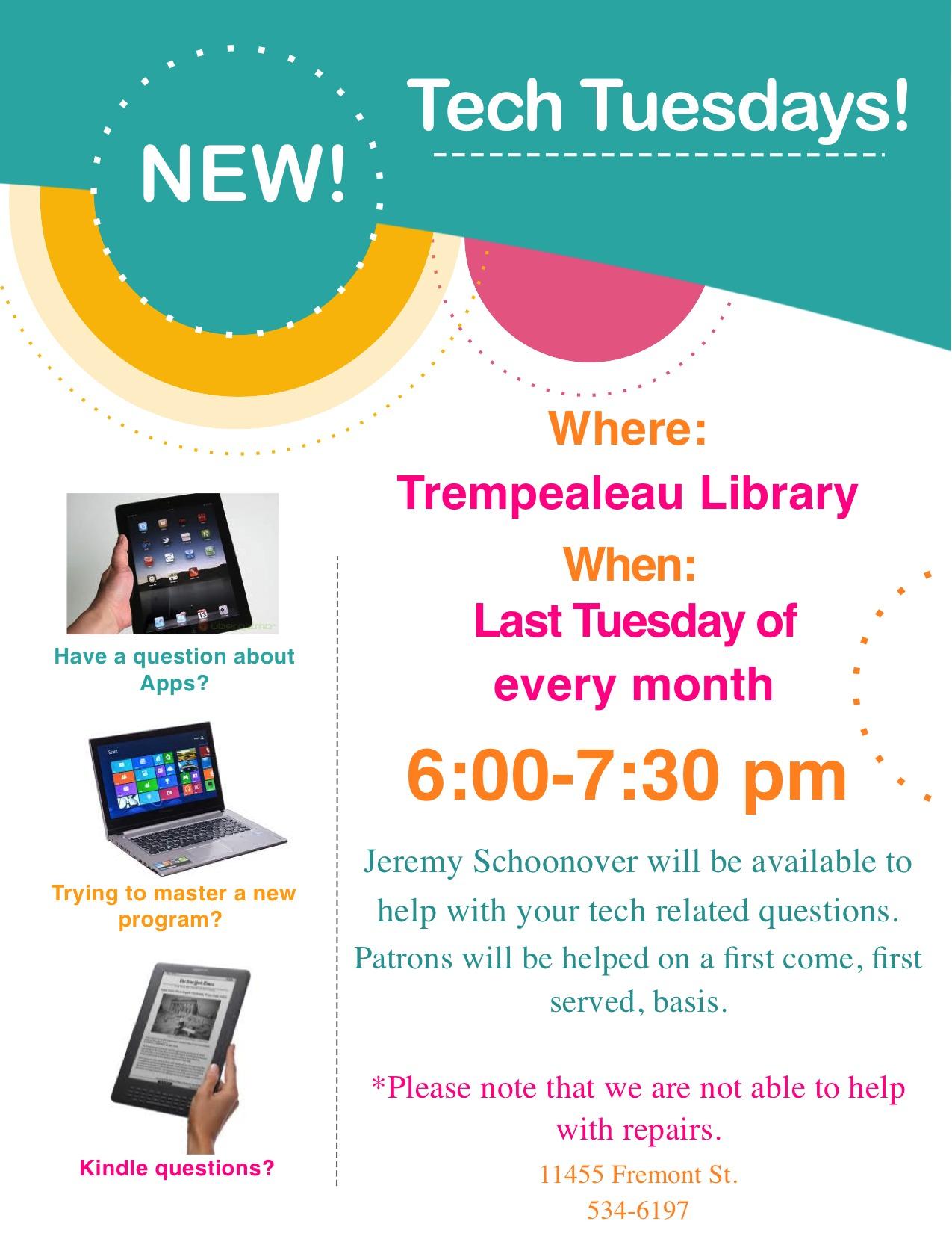 Tech Tuesdays Poster