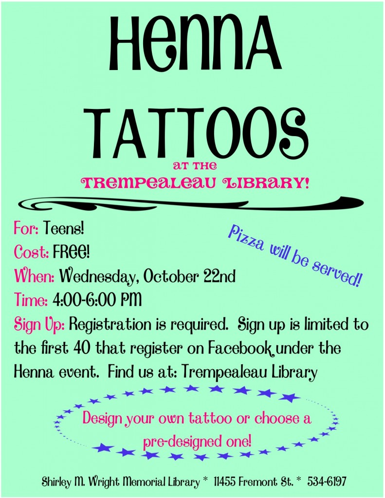 Henna Tattoos for Teens
