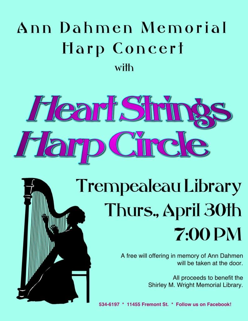 Harp Concert in Memory of Ann Dahmen