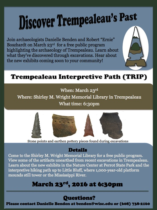Flyer_March 23 Archaeology Program
