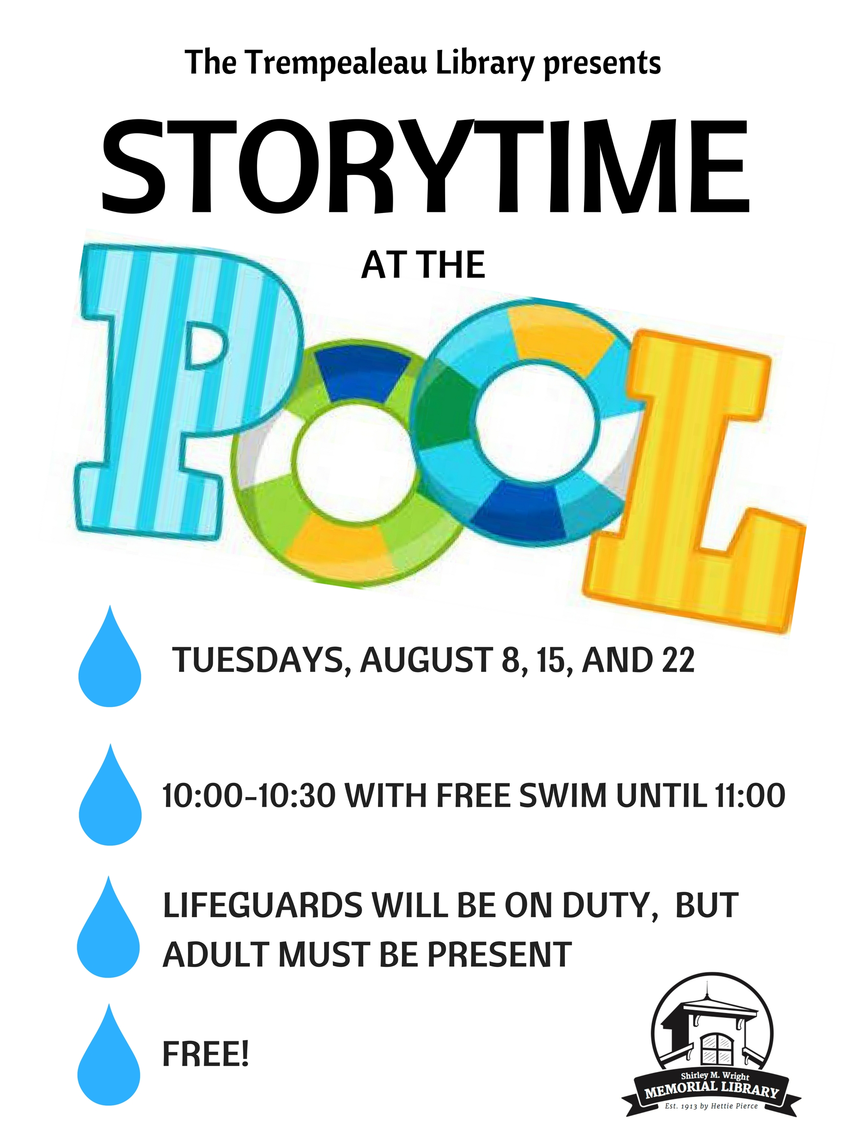 Storytime at the Pool!
